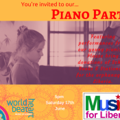Piano Party & Music For Liberia