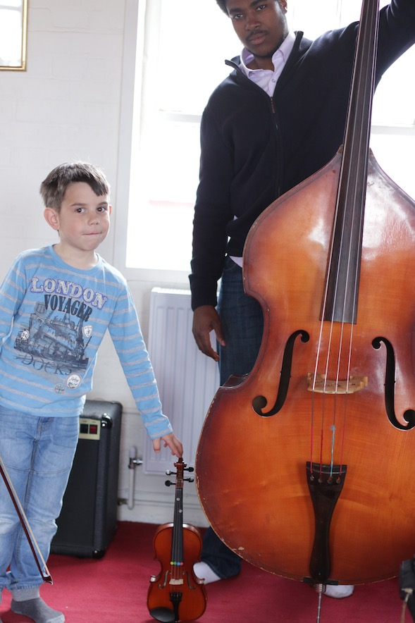 upright bass lessons in london
