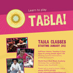 Tabla Course in London