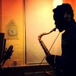 Steve Williamson recording at World Heart Beat