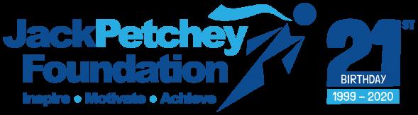 Jack Petchey Foundation 21st birthday logo
