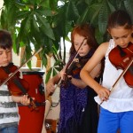 Children enjoying Celtic Fiddle Lessons in Wandsworth, SW London