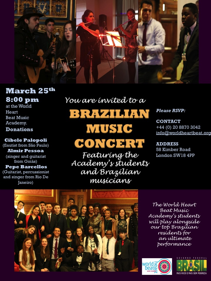 POSTER 25th MARCH CONCERT