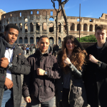 Colosseum in Rome,gucci scholars from world heart beat music academy