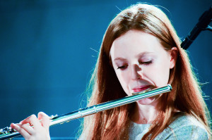 Leah Wing, young muscian the flute player,gucci scholar