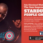 Cleveland Watkiss jazz improvising Stardust people choir