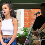 concert young musicians at cicada road street party