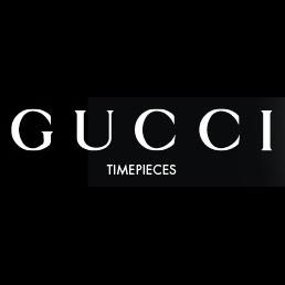 Gucci timepieces logo