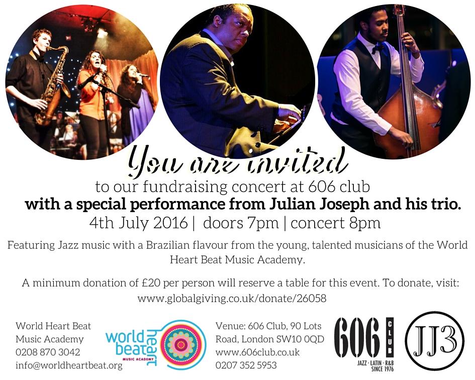 606 Fundraising concert