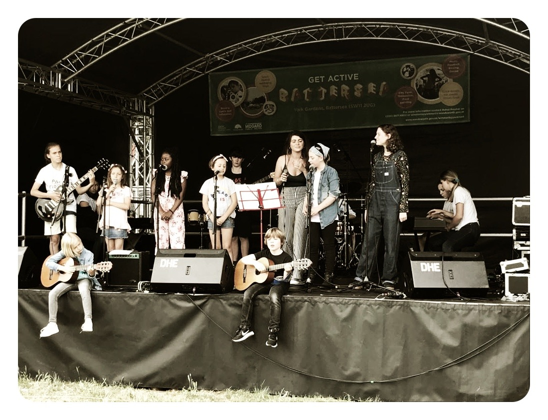 Contemporary Gig Band at the Get Active Wandsworth Festival
