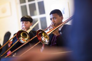 Young students enjoy Trombone Lessons in Wandsworth, SW London