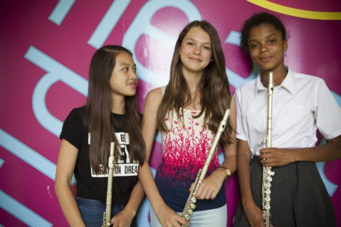 Young students enjoy Flute Lessons in Wandsworth, SW London