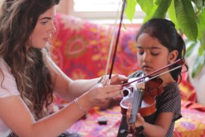 Young students enjoy Violin Lessons in Wandsworth, SW London
