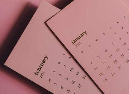 January & February 2021 Calendar